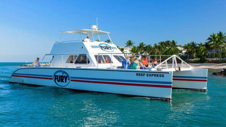 Image of Fury Reef Express boat