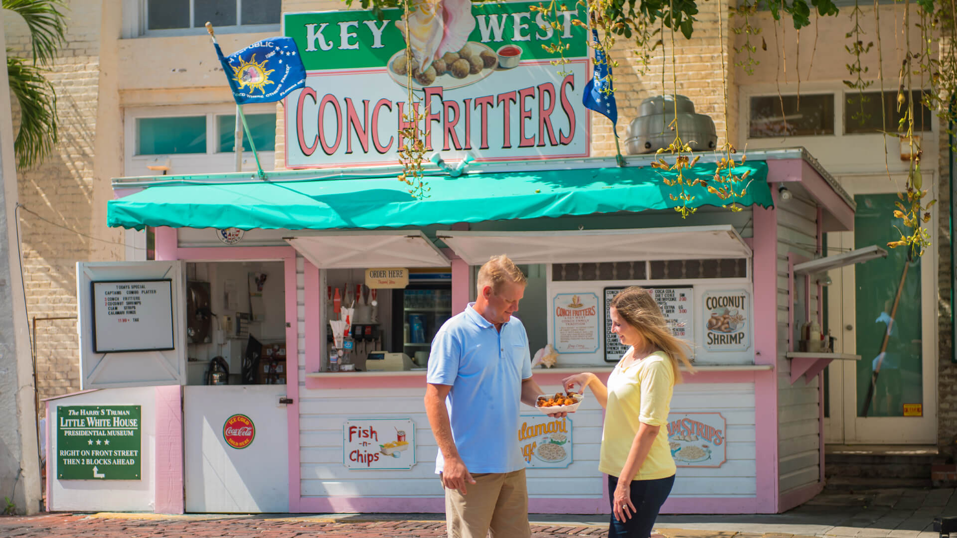 key west conch fritters food spot