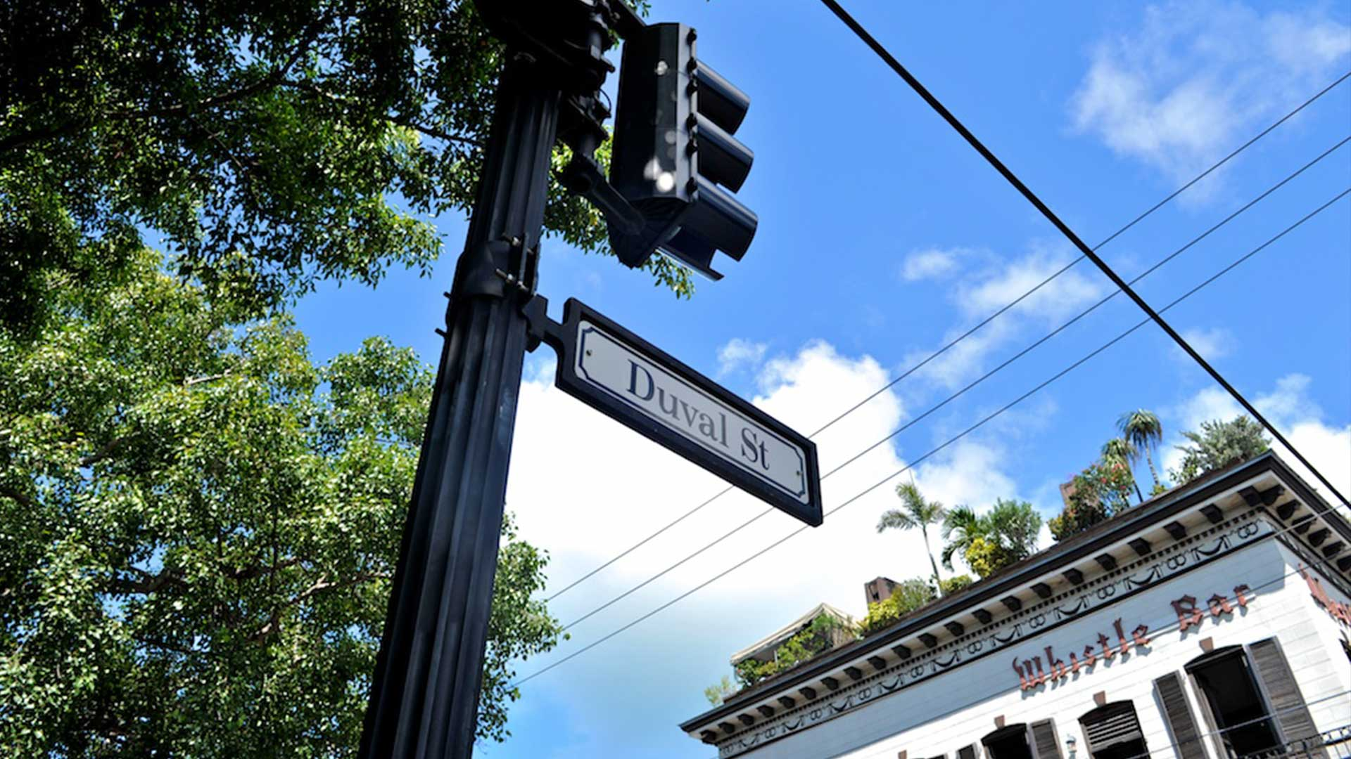 key west duval street recognized for party and bars