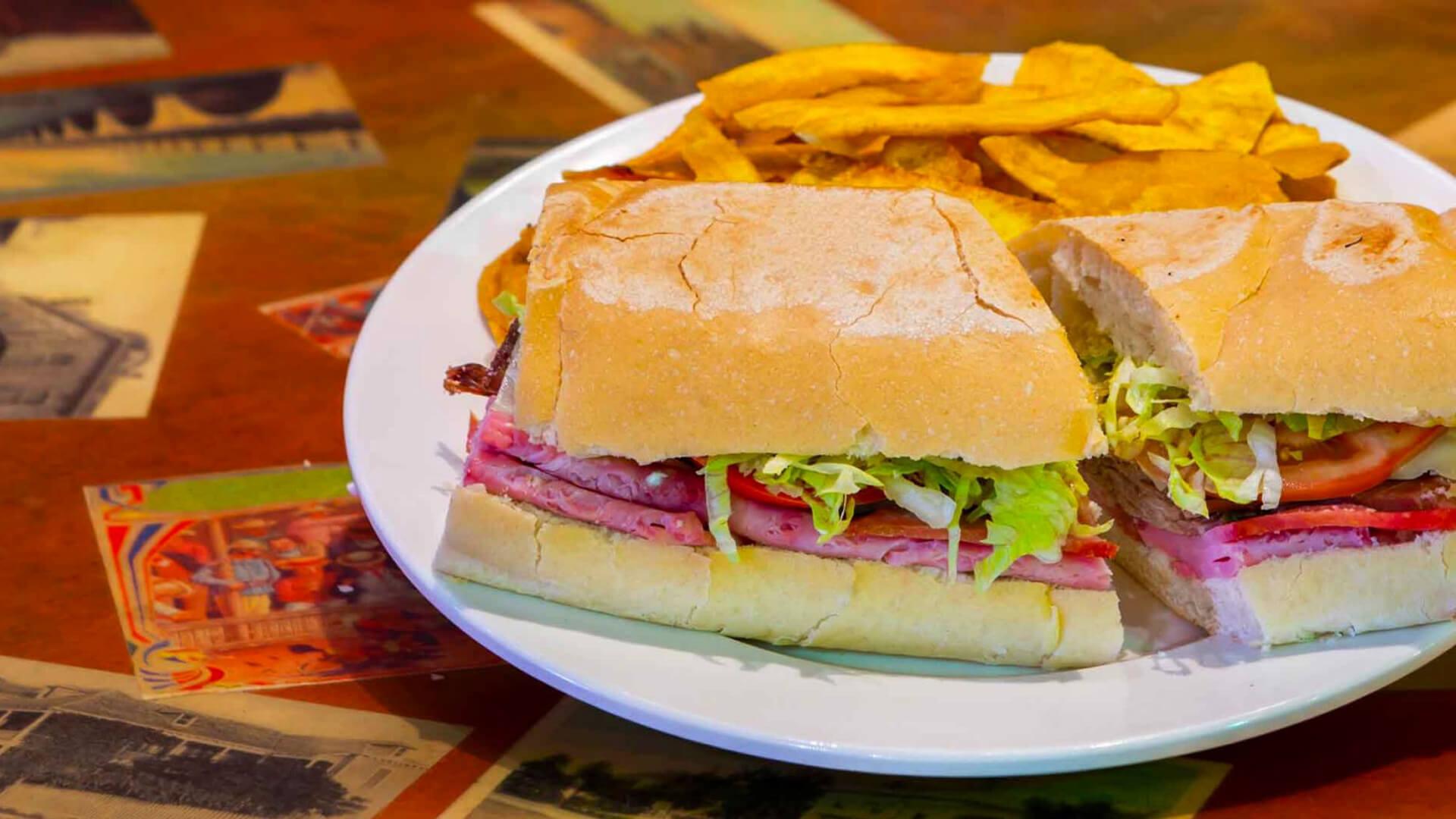 key west cuban sandwich from el meson