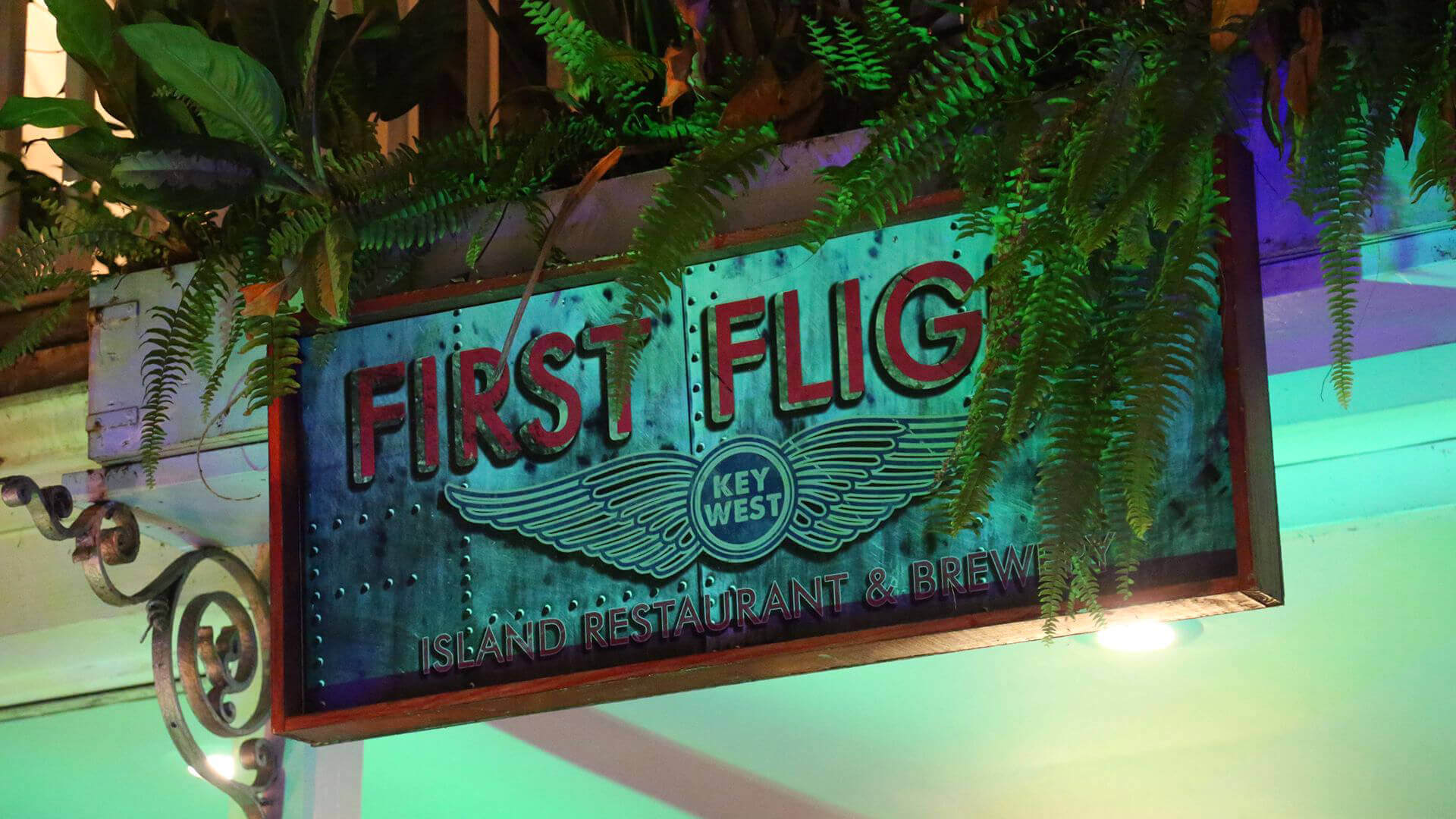 first flight restaurant key west eat of plane wing experience
