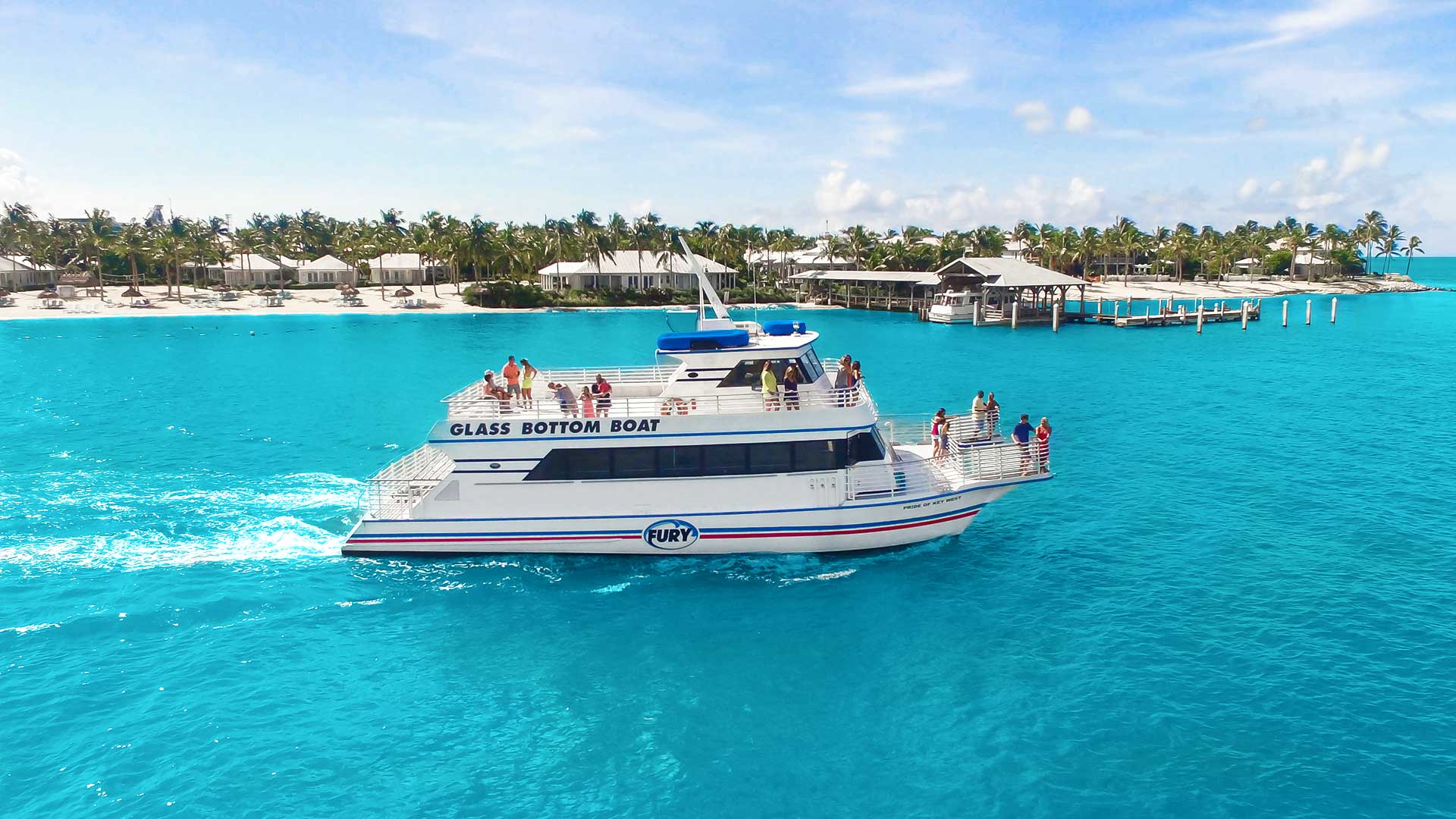 key west glass bottom boat outdoor tour
