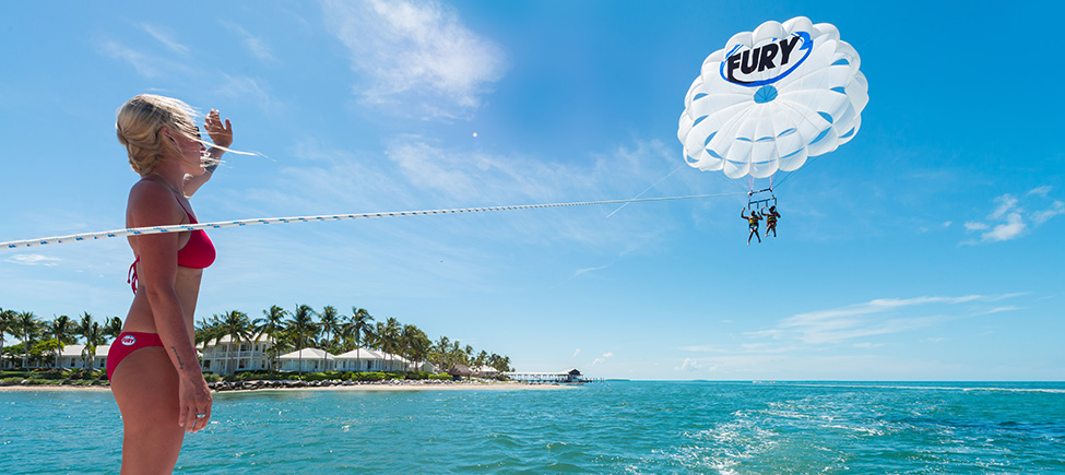 key west parasail trips
