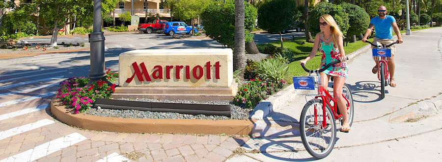 Image of Marriott Beachside Bike Rentals