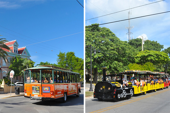 Old Town Trolley & Conch Train Tour