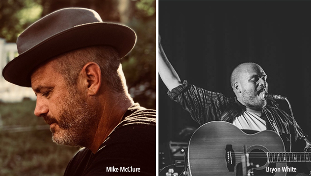 Performers Mike McClue & Bryon White