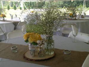 Summer Wedding center piece