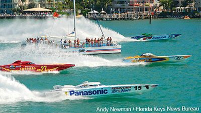 Image of the Key West Powerboat Races