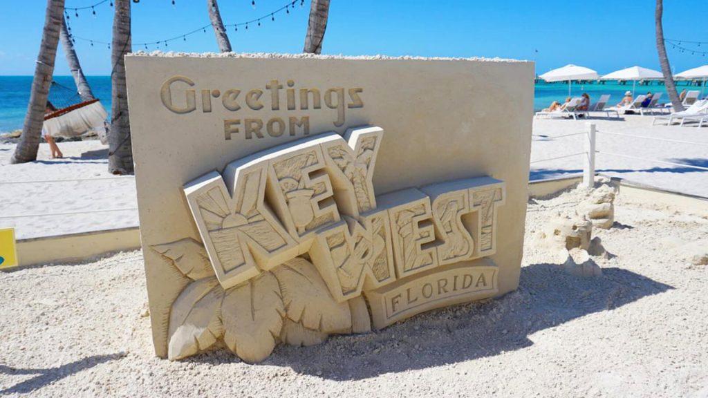 Sand Sculpting 101 at Casa Marina Resort beach in Key West