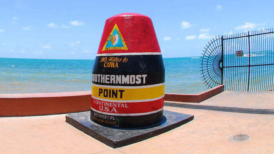 the southernmost point buoy in key west