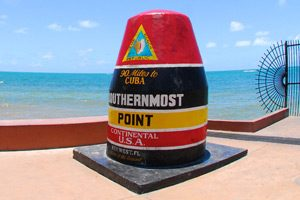 Image of the Southernmost Point Buoy