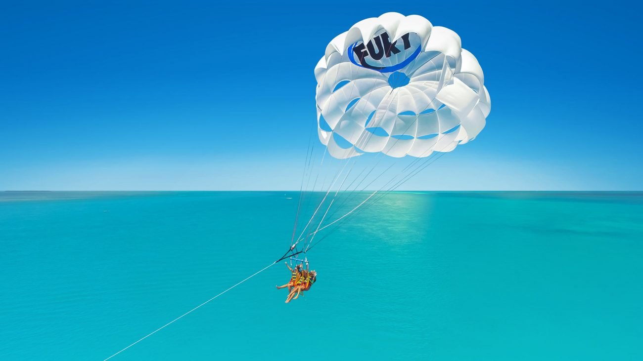 Parasailing on the Fury Ultimate Adventure